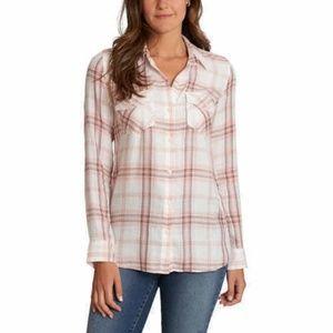Jessica Simpson Petunia Button-up Shirt